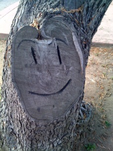 Tree Smiling