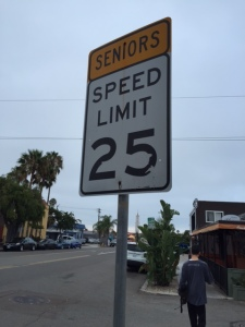 Seniors Speed Limit