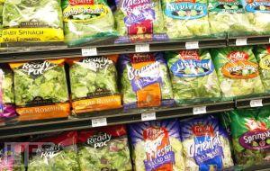 Bagged salads